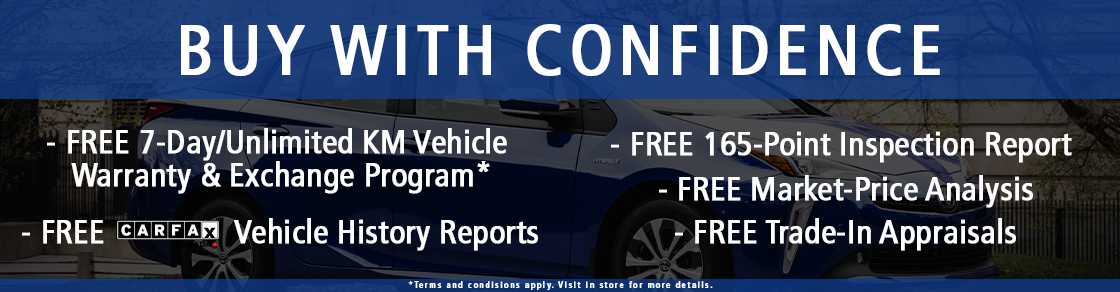 Buy with Confidence at Tony Graham Toyota