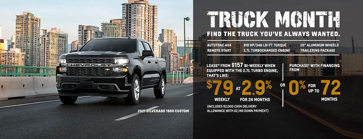 Chevrolet Pickup Trucks