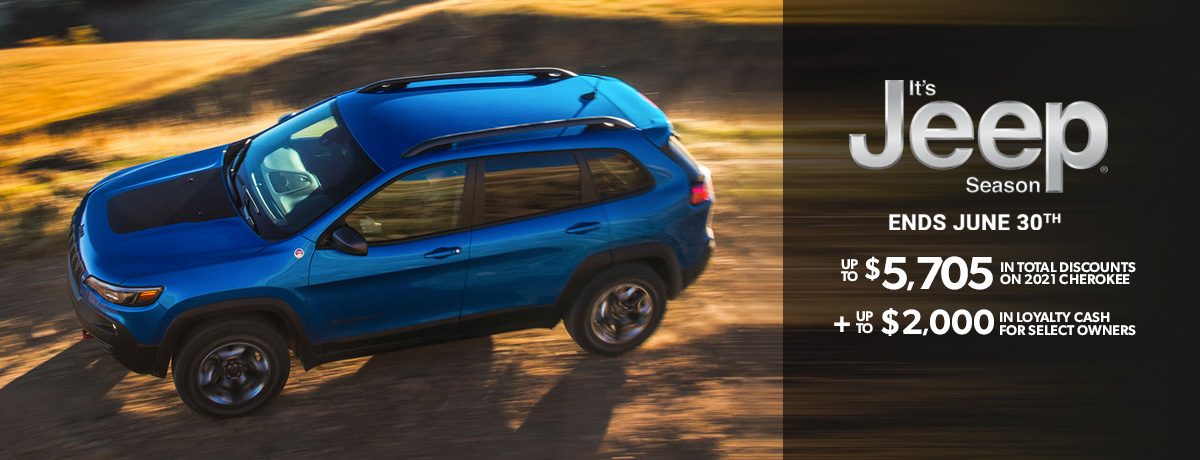 Jeep Cherokee for sale in Ontario
