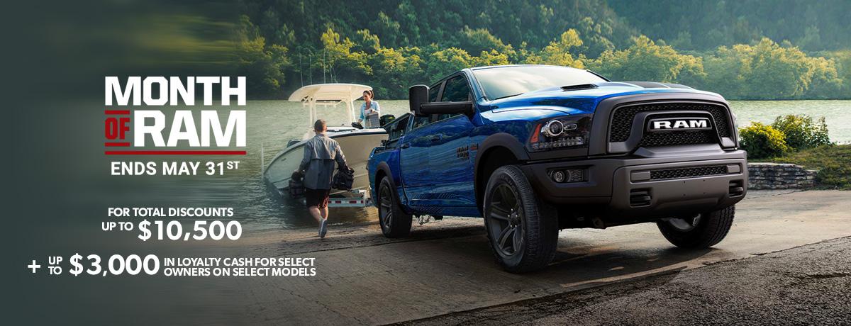 RAM pickup trucks