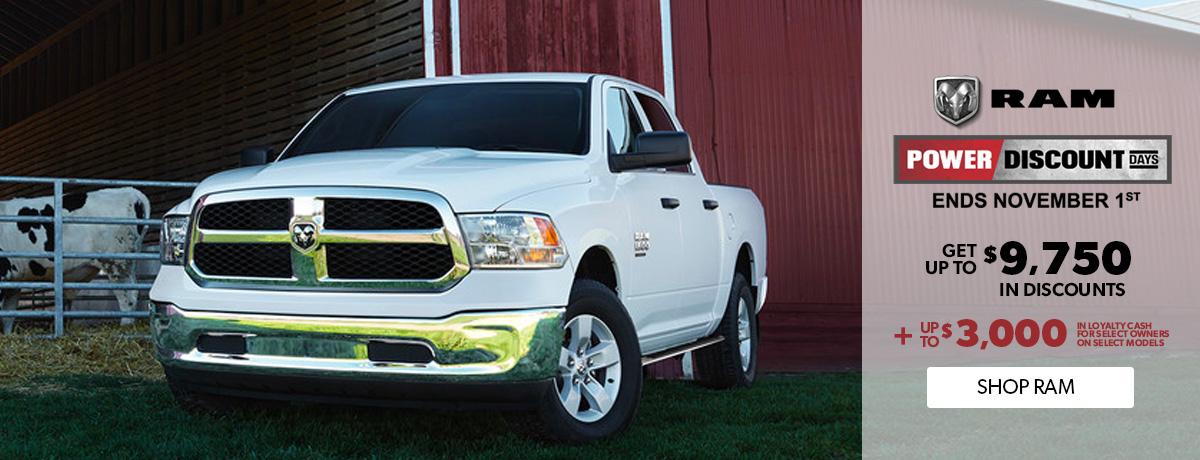 RAM pickup trucks for sale