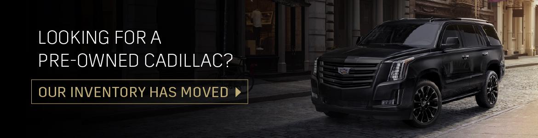 Used Cadillac Vehicles