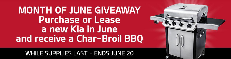 June Giveaway - BBQ