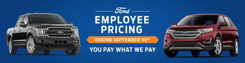 Employee Pricing