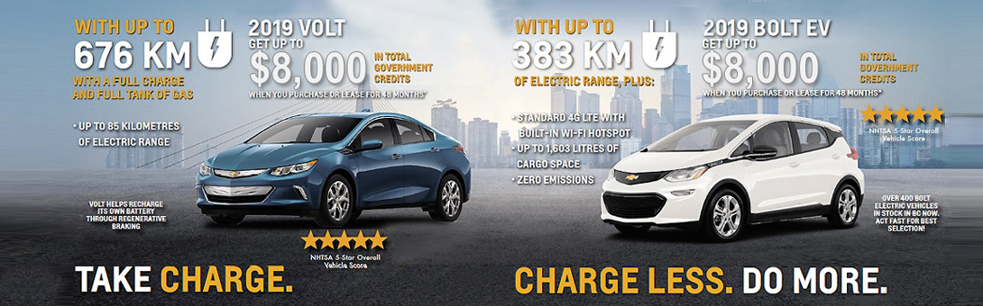 New Chevrolet Volt For Sale In Burnaby Carter Gm Burnaby