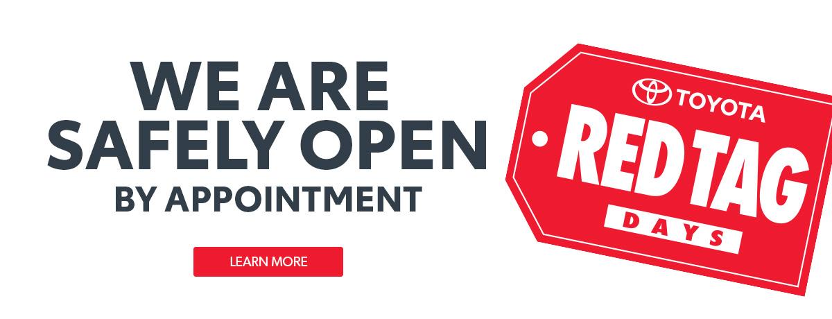 Toyota Dealership Open