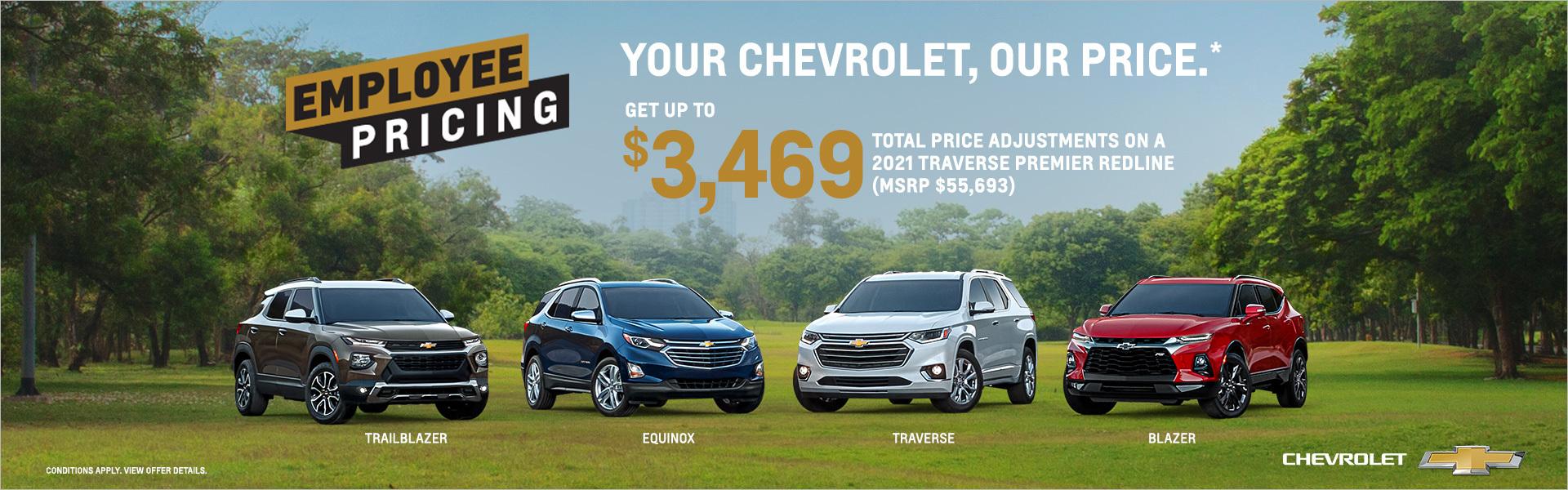 GM Employee Pricing