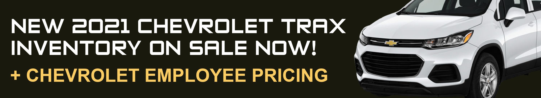 New Chevrolet Trax Sale!