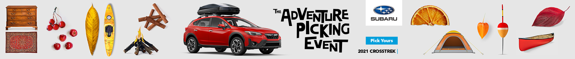The Adventure Picking Event on now at Peterborough Subaru